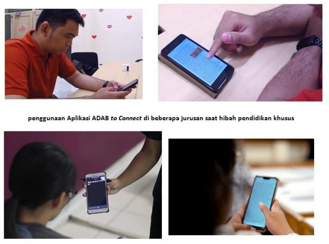 ADAB app being tested